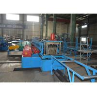 380V Highway Guardrail Roll Forming Machine / Roll Former Machine With Decoiler Manufactures