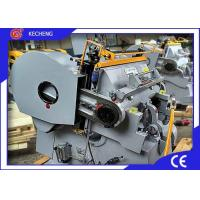 Flatbed Paper board Die Cutting Creasing Machine Manual Feeding Four Security Parts Manufactures