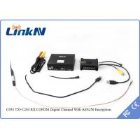 Digital Communication drone transmitter With AES256 Encryption , Space Diversity Reception Manufactures