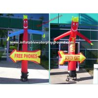 Wateproof 8ft Inflatable Advertising Small Air Dancers With Blower Manufactures