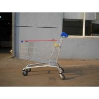 232L Zinc Plated Supermarket Shopping Cart Trolley High Capacity Manufactures