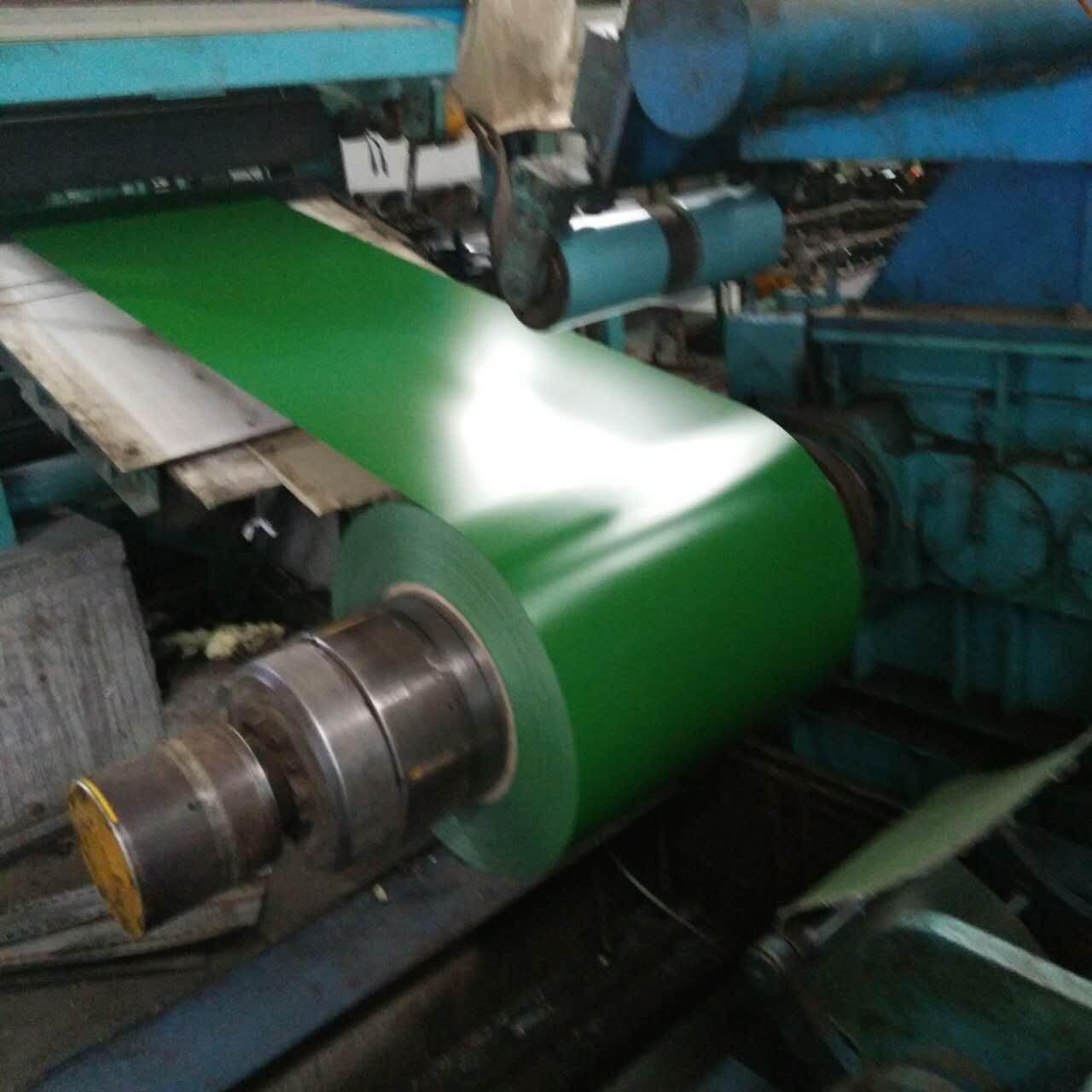 Colored Galvanized Steel Sheet In Coil Jis G3312 Excellent Mechnical Strenth Manufactures