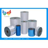 50mic Single Layer PVC Heat Shrink Film , Flexible Pvc Film For Pocket Shrink Sleeve Manufactures