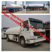 Factory sale best price SINO TRUK HOWO 6*4 LHD 20m3 water sprinkling truck, HOT SALE! HOWO 20,000L cistern tank truck Manufactures