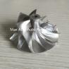 TD04HL 13T 49377-04200HF 40.61x56.02mm 6+6 blades Turbocharger Billet compressor wheel fo Manufactures