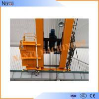 10 ton / 50 ton Dual Rail Electric Wire Rope Hoist Heavy Duty Winch Trolley Manufactures