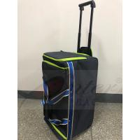 Buy cheap Blue Rolling Insulated Cooler Bag , Insulated Wheeled Camping Cooler Bag , Thermal Insulated Trolley Bag from wholesalers