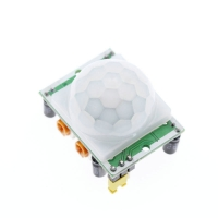 China HC-SR501 White+Green Adjust IR Pyroelectric Infrared PIR Motion Sensor Detector Module For Arduino on sale