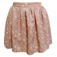 Reversible Flower Print Ladies Casual Skirts for Girls , juniors Manufactures