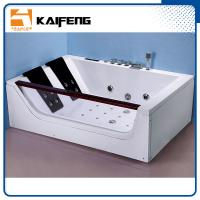 Luxurious 2 Person Jacuzzi Bathtub , Jacuzzi Therapy Tubs With Safety Suction System Manufactures