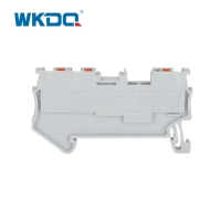 Feed Through Wire Electrical Terminal Block 1.5mm 1 Input 2 Output Push In Terminals Manufactures