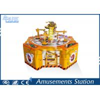 Four Players Audit Memory Amusement Game Machines , Kids Arcade Candy Claw Machine Manufactures