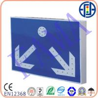 China 600*400mm Diverging-indicating Solar Sign on sale