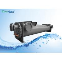 China CE Approve Grooved Type Shell Tube Heat Exchangers For Water Cooled Chiller on sale