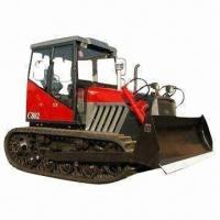 Crawler Tractor with Front Blade and Rear Linkage, Construction Equipment, Wheel Tractor Available Manufactures