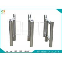 Quality High Security Swing Barrier Gate Waterproof RIFD Smart  Turnstile System for sale