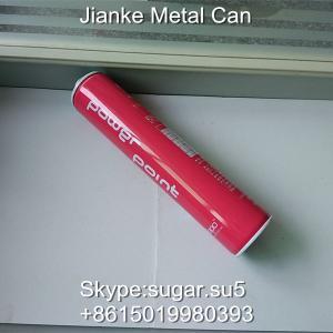 Spray tin cans Diam.45 height 230mm for hair spray 450ml Manufactures