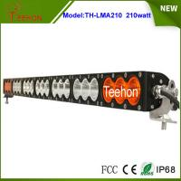 "37.9"" 168000lm amber led light bar single row multi color led light bar for off-road Manufactures"