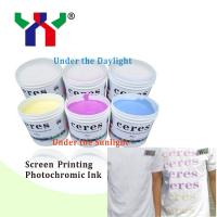 Sunlight Change Ink/Sunlight Reactive Ink/Color will change by sunlight Manufactures