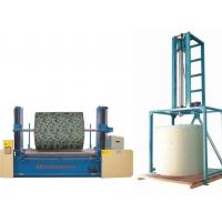 Vertical / Horizontal Mattress Sponge Foam Drilling Machine , Foam Mattress Making Machine Manufactures