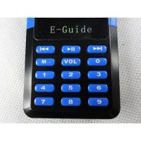 Quality 006A Wireless Audio Guide System , Handheld Type Audio Tour Guide Equipment for sale