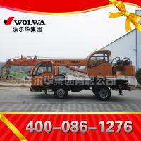 Chinese manufacturer small wheel crane truck mounted crane with telescopic GNQY-z490 Manufactures