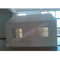 Quality 3x6m White Pvc-Coated Temporary Tents With Strong Poles For Event / Parking / Large Storage for sale