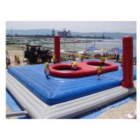 Outdoor Large Inflatable Playground PVC Tarpaulin For Kids / Adults Manufactures