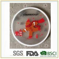 High quality with low price100% pvc and rubber silicone drink coaster home furnishings Manufactures