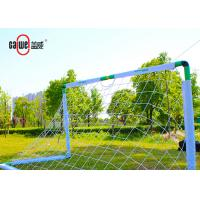 Unbreakable Fold Away Football Goals , Waterproof Movable Pop Up Football Goals Manufactures
