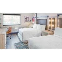 American Style Laminate Oak Wood Luxury Hotel Bedroom Furniture For Four Point Sheration Hotel Manufactures