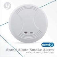 9V Stand Alone Optical Smoke Detector Flash Alarm ABS Alarm Manufactures