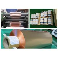Soft Annealed Rolled Copper Foil For Conductive Tape Thickness 0.02mm Manufactures