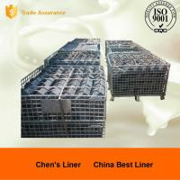 Sill Bar of High Chromium Cast Iron Chute Liners Hardness HRC50 Manufactures