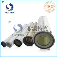 Three Lugs Industry Pleated Filter Cartridge For 9.4 M2 Filtering Area Manufactures