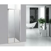 Straight Bathroom Shower Enclosures Double Pivot Shower Doors Manufactures