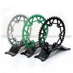 Rear Wheel Custom Motorcycle Sprockets For CNC Aluminum Motorcycle Parts for Kawasaki Manufactures