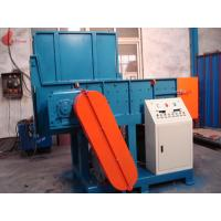 Single shaft And Twin Shaft plastic shredder machine , film recycling machine Manufactures