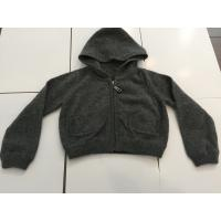 Little Boys Black Hoodie Sweater For Winter / Autumn Fashionable Design Manufactures