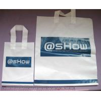 Quality Durable Recyclable Water Resistant Plastic Handle Bag Customized for sale