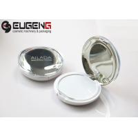 Pressed Powder Case Exquisite Plastic Makeup Empty Compact Powder Packaging Manufactures