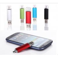 Quality Red Blue Purple OTG Pocket USB Thumb Drive Classic Swivel Plastic For Mobile Phone for sale