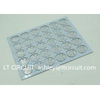 Round LED High Thermal Conductivity PCB Aluminum Based Single Layer Manufactures