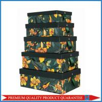 Custom Color Printing Strong Paper Gift Packaging Box Made of Rigid Chipboard Top & Bottom Manufactures