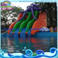 New Inflatable Water Slide for Water Park  PVC Inflatable Slide for Pool, Water Park Used Manufactures