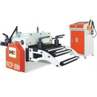 Mechanical Releasing Steel CNC Coil Feeder Machine With Conveyer Belt Manufactures