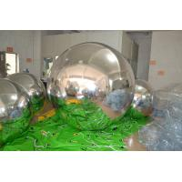 Excellent Peeling Huge Inflatable Mirror Ball for Outdoor / Indoor Use Manufactures