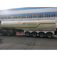 Front Axle Air Suspension with Lift Four Axle Oil Semi - Trailer Manufactures