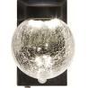 Motion Sensor Solar Powered Crackle Glass Globe Lights , Solar Crackle Glass Ball Lights Manufactures