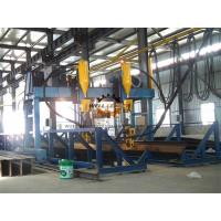 Gantry Automatically H Beam Welding Line , Shipbuild T Welding Machine Manufactures